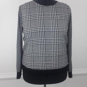 Michael Kors Long sleeve printed blouse